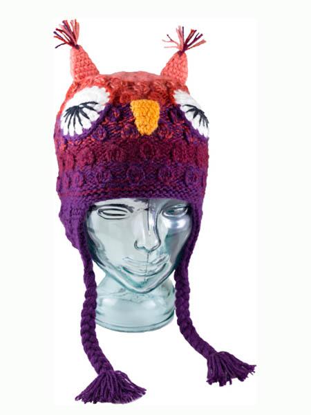 Animal Kids Lady Owl Hat