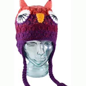 Animal Kids Lady Owl Hat