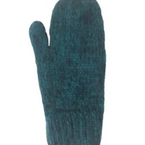 Blended Mittens, Aqua, Alpaca Blend, winter Mittens for the whole family