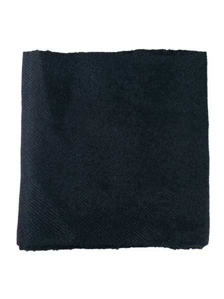Solido Scarf 100% Alpaca, Black. Unisex winter Scarves for the whole family