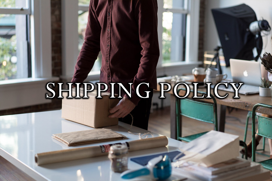DFT Shipping Policy and packaging materials