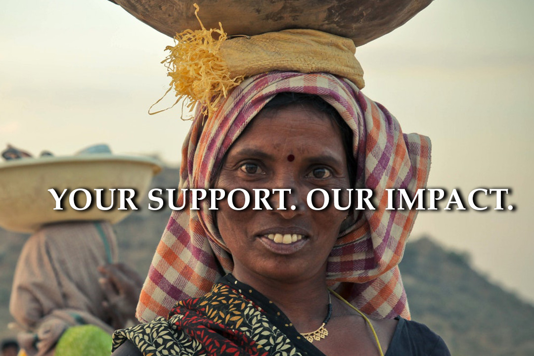 DFT supports micro-lending. Your Support. Our Impact.