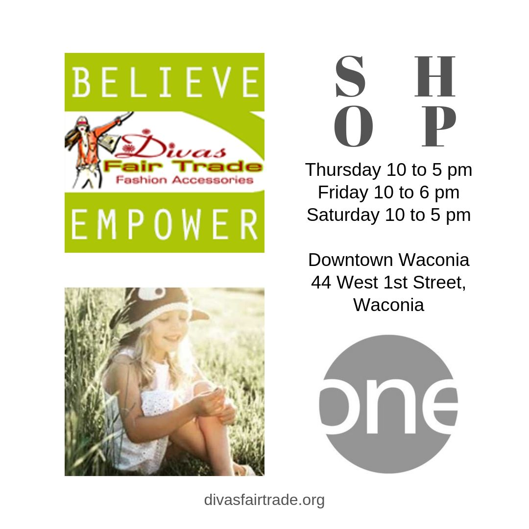Divas Fair Trade Partners with One. Boutique in Downtown Waconia, MN
