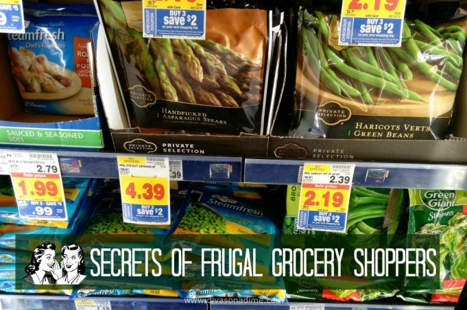 Want to save 30% or more off your grocery bill? These shopping tips will show you the secrets of frugal shoppers to save BIG on groceries.