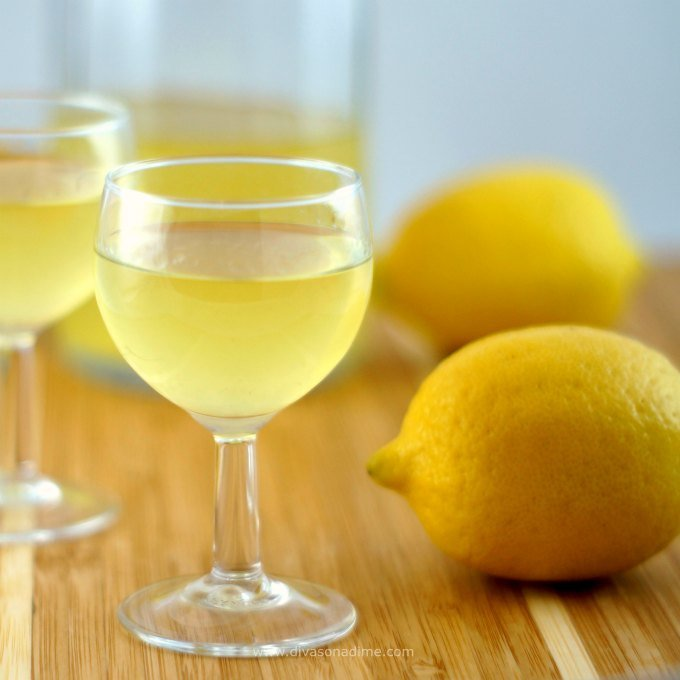 Easy recipe for homemade Limoncello that tastes like summer in a glass. Simple Italian method with intense lemon flavor that will make you feel like you're on the Amalfi Coast of Italy.