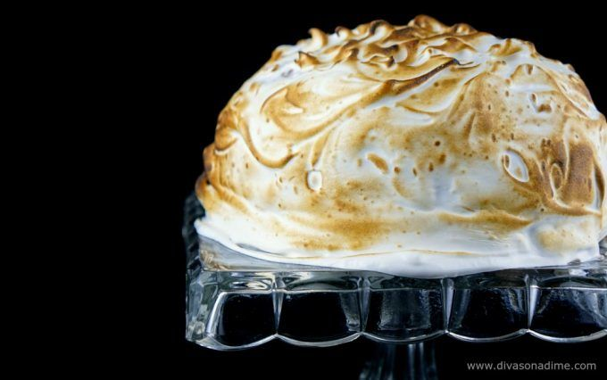 Meringue, ice cream and cake come together to make this elegant and classic dessert. And it's easier than you think.
