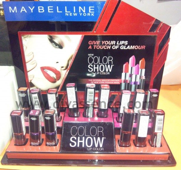Maybelline Color Show Lipsticks