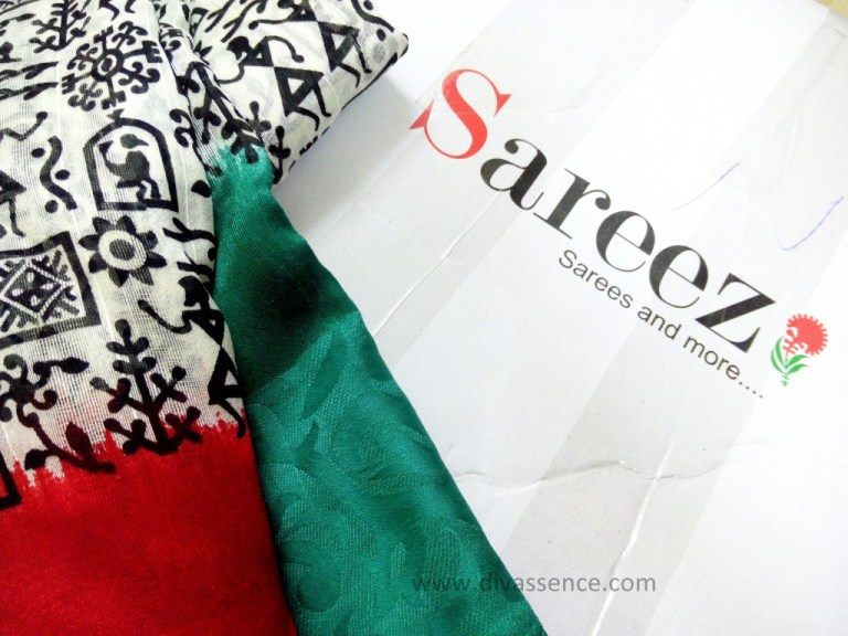 Indian saree, warli saree, sareez.com
