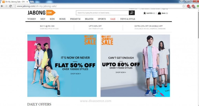 Jabong.com Review