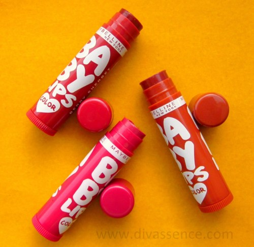 Maybelline Baby Lips  Spiced Up Lipbalms Review
