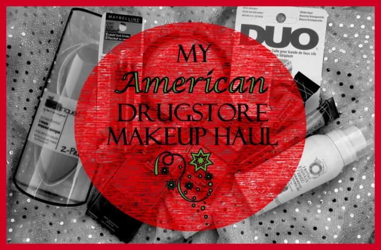 My American Drugstore Makeup Haul