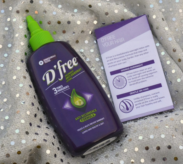 DFree Anti-Dandruff Lotion Review  (2)