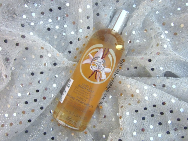 The Body Shop Vanilla Body Mist Haul, Review