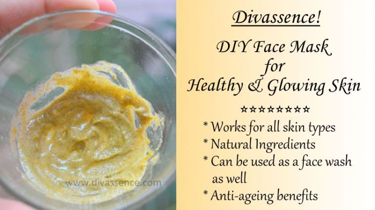 DIY Face mask for glowing skin
