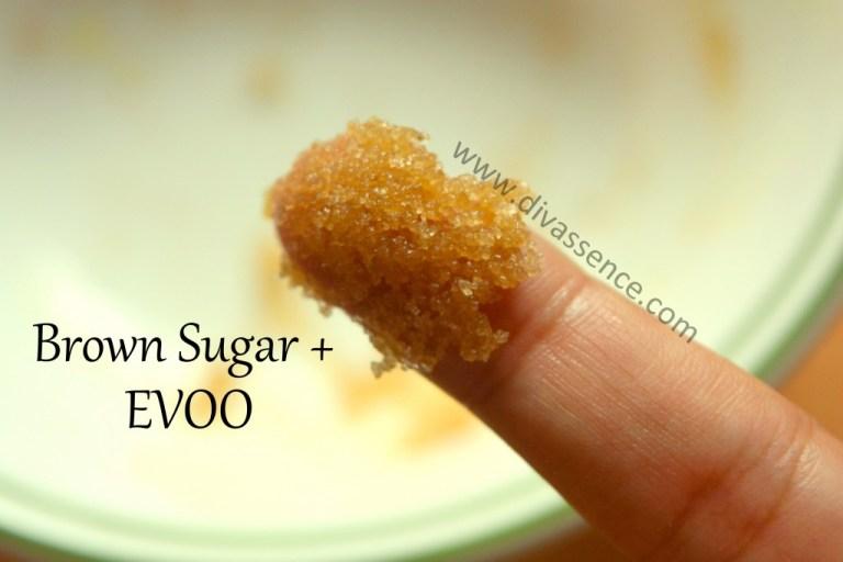 DIY homemade natural sugar lip scrub, Indian beauty blog, chennai beauty blog, divassence, natural beauty tips, brown sugar