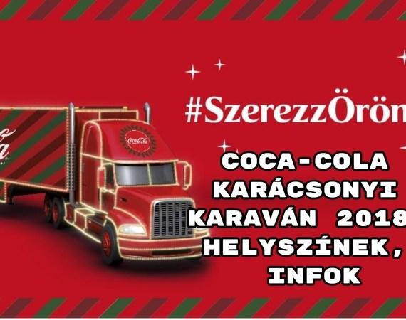 """A 2017-es szünet után a Coca-Cola Karácsonyi Karaván 2018-ban ismét elindul. """"Számtalan izgalmas programmal várunk mindenkit!Találkozhattok és fotózkodhattok a Mikulással, akitől az elkészült képet kinyomtatva meg is kapjátok, ráadásul egy kis meglepetés ajándékkal. Megkóstolhatjátok az új téli szilvás FUZETEA-t felmelegítve, és természetesen Coca-Cola és Coca-Cola Zero kóstolásra is lesz lehetőség. Ünnepi képeslapot készíthettek magatokról: az egyedi fotózáson készült képen az alkalmazásunk Mikulássapkát varázsol mindenkire. A képeslapot kinyomtatjuk, és ha szeretnétek, a helyszínen megírhatjátok és meg is címezhetitek – a postázásról pedig mi gondoskodunk.""""- indul a közlés. Coca-Cola Kamion 2018 - jutalom járt a jótettért Hozzátették: """"Aki fel szeretne kerülni a Jótevők fájára, a palackokon található jótétemények mintájára felírhatja saját karácsonyi fogadalmát, amit felakaszthat a Coca-Cola óriás karácsonyfájára. Cserébe megajándékozzuk egy piros karácsonyi gömbdísszel, amire kalligráfusunk felírja a jótevő nevét vagy becenevét, így mindenki névre szóló, egyedi dísszel várhatja az ünnepeket.Az alkotósarokban, manóink segítségével pedig kicsik és nagyok egyaránt készíthetnek kézműves ajándékokat vagy díszeket. Ezek különlegessége, hogy PET palackok és kupakok újrahasznosításával készülnek. Egy biztos, senki nem fog unatkozni, aki meglátogat minket az állomásokon""""- áll a tájékoztatóban. Bővebb info az állomásokról, időpontok itt."""