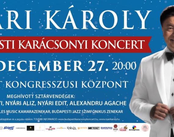 Nyári Károly karácsonyi koncertre készül - jegyek itt