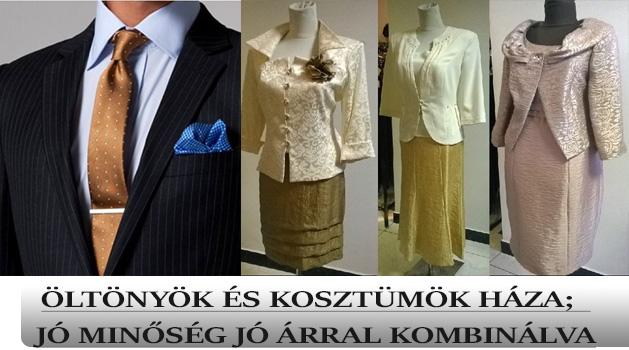 Elegance Öltönyök és kosztüm üzlet