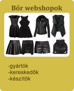 bőr divatáru webshop