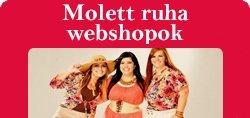 Molett ruha - Webshopok