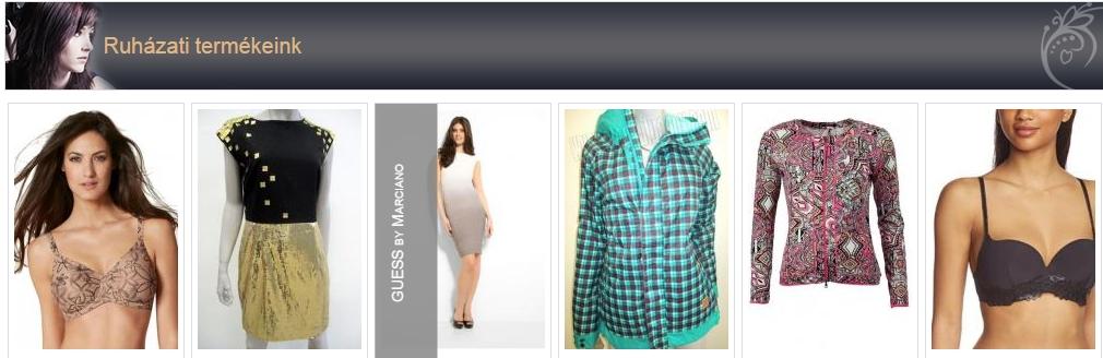 Az ország legnagyobb márkás outlet ruha nagykereskedése,