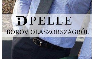 Dipelle bőrövek olaszországból
