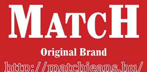 Match Jeans =Kiváló minőségű, hazai gyártás