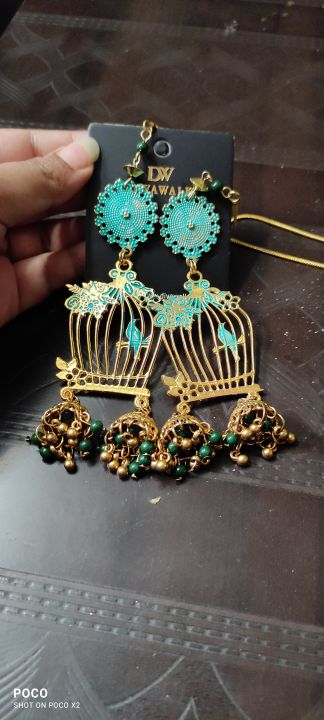Gold-Toned Contemporary Jhumkas photo review