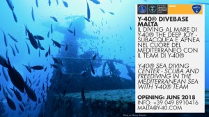 Y-40® DiveBase Malta first news.