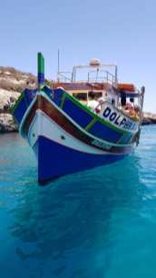 Luzzu, typical Maltese Boat