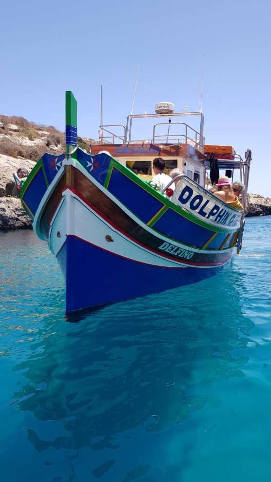 Luzzu, typical Maltese Boat