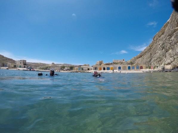 Dive site Inland Sea Gozo