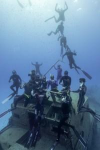 Freediving on wrecks of Malta