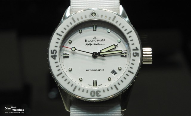 Blancpain_Fifty_Fathoms_Bathyscaphe_White_Front_Cite_du_Temps_2014