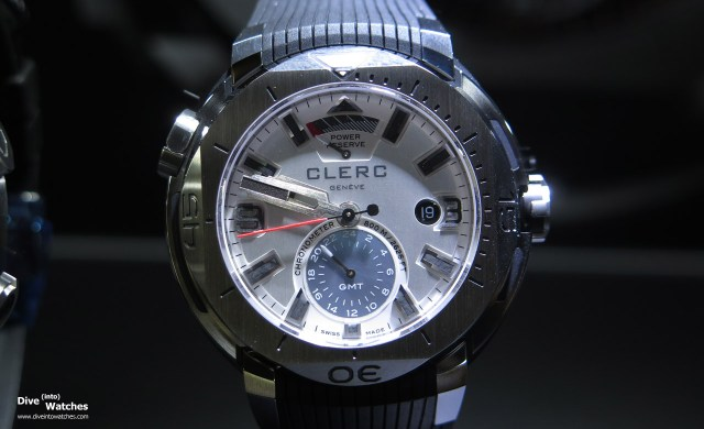Clerc_Hydroscaph_800_SS_GMT_White_Front_Baselworld_2015