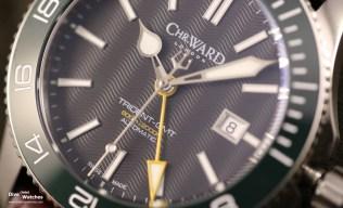 Christopher_Ward_London_C60_Tridente_GMT_42_Green_Wax_Dial