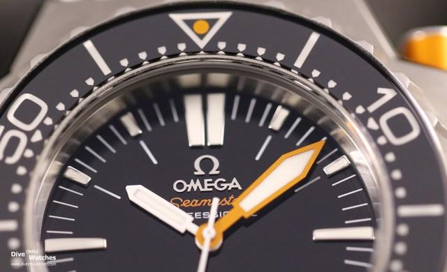 Omega Seamaster Ploprof Zifferblatt