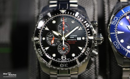 Certina_Dive_Chrono_Black_Front_Baselworld_2017