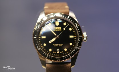 Oris_Sixty_Five_Diver_Two_Tone_Front_Baselworld_2018