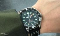 Die Uhr misst 43.1 mm