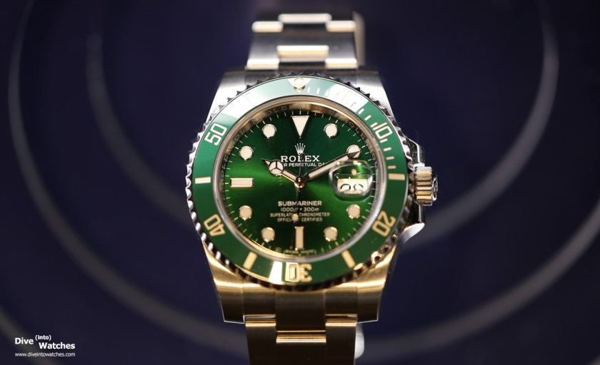 Rolex Submariner 116610LV from 2018