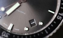 """Blancpain bezeichnet die Zifferblattfarbe dieses Modells als """"Meteorgrau"""", das Datum befindet sich zwischen 4 und 5 Uhr"""