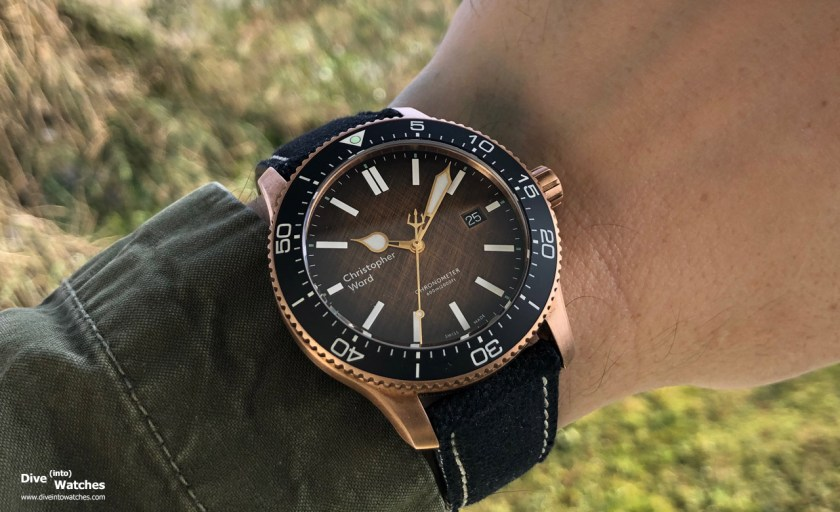 "Christopher Ward C60 Trident ""Ombré"""