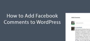 How to add Facebook Comments to WordPress without a plugin