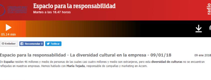 RNE, Empresa, Cambio Social, DIVEM, diversidad cultural