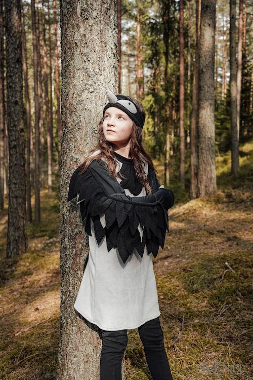 crow costume for kids