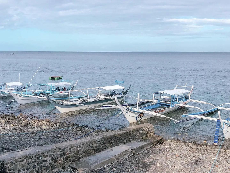Dive Boats in Anilao Batangas