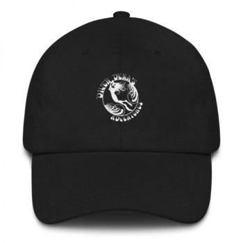 Diver Dena's Adventure Shop~Black Dad Hat