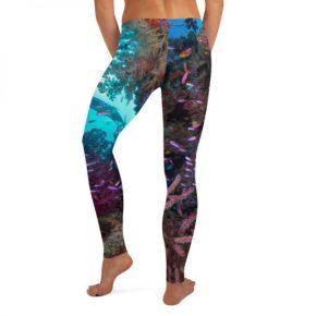 Spectacular Reef Yoga Pants ~ Diver Dena's Adventure Shop