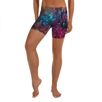 Diver Dena's Adventure Shop~ Spectacular Reef Yoga Shorts